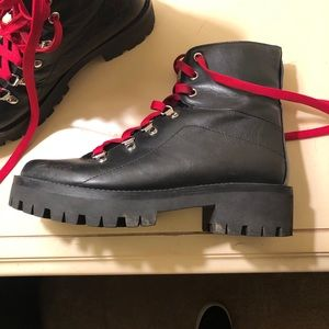 Steve Madden Boots with limited edition red laces